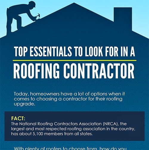 Infographic Top Essentials To Look For In A Roofing